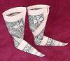 money origami boots