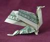 money origami dragon