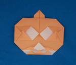 halloween paper pumpkins