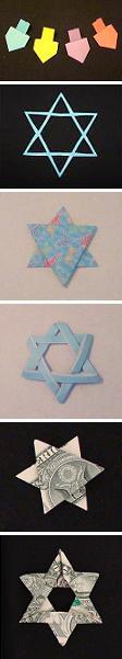 jewish origami