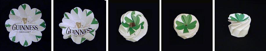 st patrick's day origami