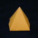 pyramid origami
