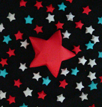 patriotic origami