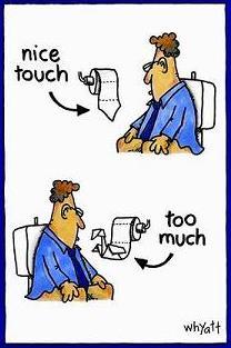 toilet paper cartoon