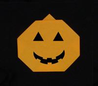 halloween origami pumpkins