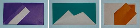 origami letterfolds