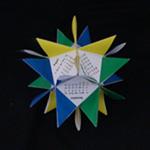 origami spike calendar Calendar