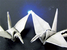 electronic origami paper